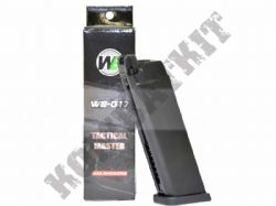 5019 WE Airsoft Gun Gas Magazine EU17/EU18 G-Series Pistol Metal
